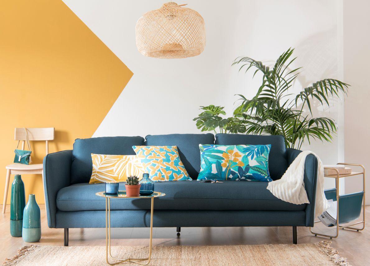Colori Per Pareti Casa Moderna riscoprire il living. le tendenze colore 2019 - 2020