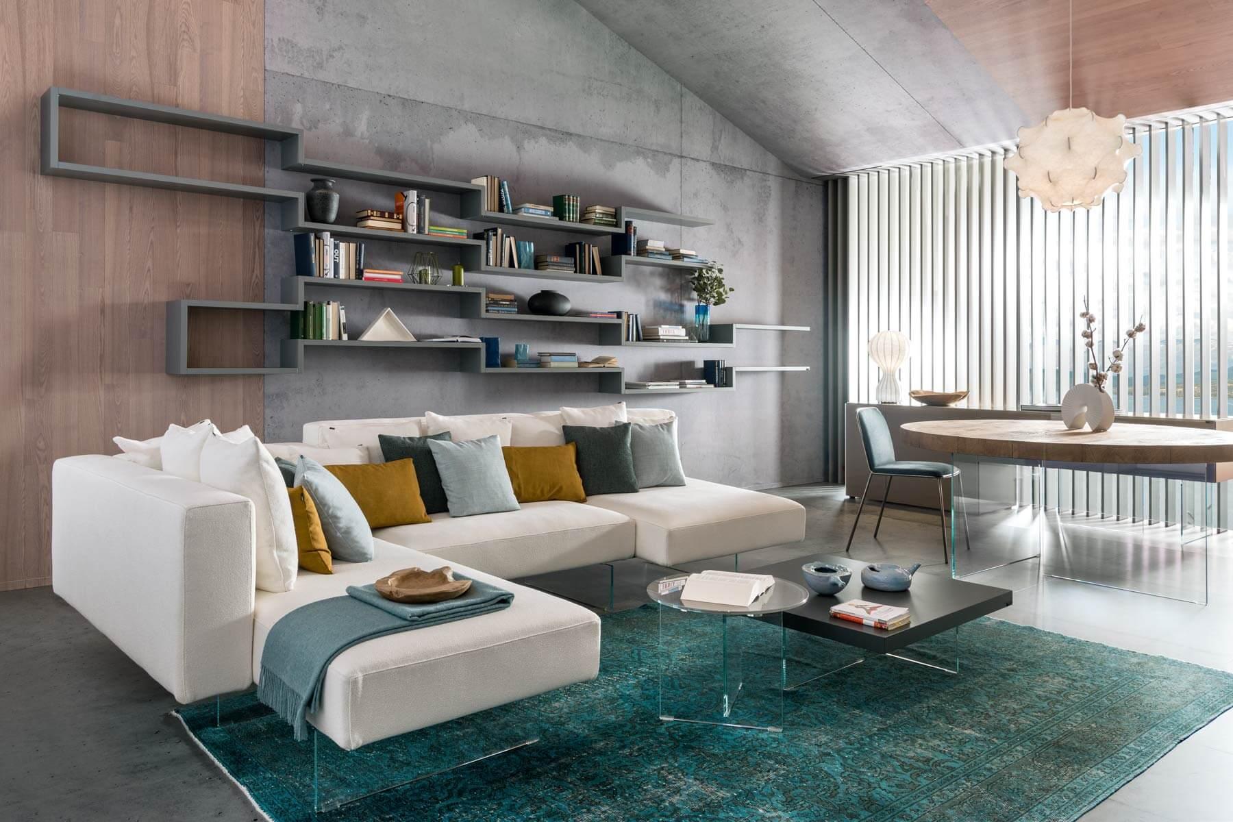 Dimensioni Tappeto Davanti Al Divano divani e dintorni - casamoderna